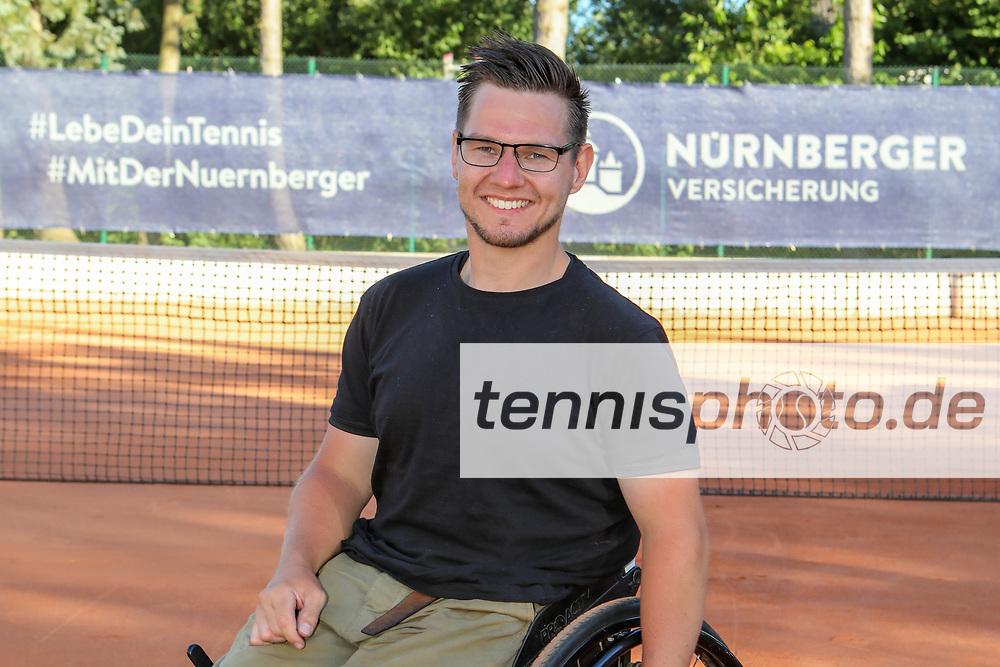 Max Laudan, DTB Team im Rollstuhltennis, 30. German Open Rollstuhltennis, Berlin, 07.07.2018, Foto: Claudio Gärtner
