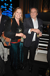 VISCOUNT & VISCOUNTESS GORMANSTON at the opening of the new Gaucho restaurant at the O2 Arena, London on 15th May 2008.<br />