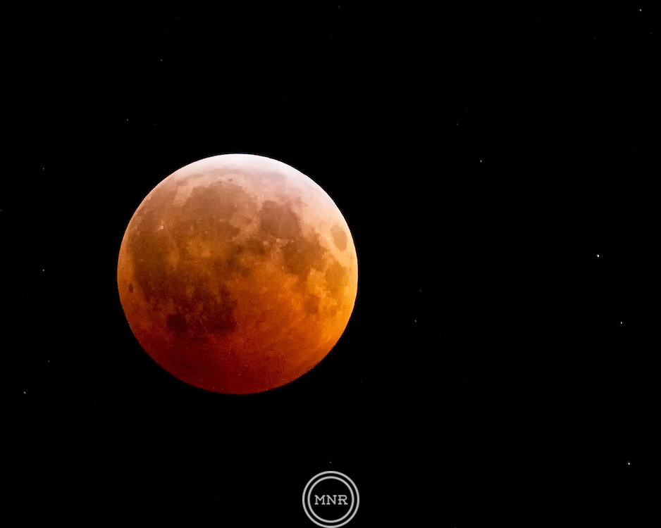 The Lunar Eclipse on the Winter Solstice.