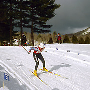 Nordic (cross country) ski race in Jackson, New Hampshire