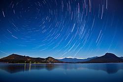 20 minutes of star movement long exposure, Lake Moogerah, QLD, Australia Photo by Andrew Tallon