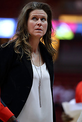 29 January 2017: Lisa Hayden during an College Missouri Valley Conference Women's Basketball game between Illinois State University Redbirds the Salukis of Southern Illinois at Redbird Arena in Normal Illinois.