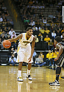 February 27 2013: Iowa Hawkeyes guard/forward Roy Devyn Marble (4) with the ball during the first half of the NCAA basketball game between the Purdue Boilermakers and the Iowa Hawkeyes at Carver-Hawkeye Arena in Iowa City, Iowa on Wednesday, February 27 2013.