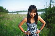 2015 May 27 - Lulu Lemon local ambassador Maude is photographed at Lake Zorinsky in Omaha, Nebraska.