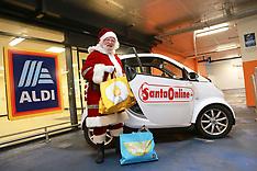 Santa online at Aldi