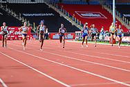 Women's 200m Final during the Muller Grand Prix at Alexander Stadium, Birmingham, United Kingdom on 18 August 2019.