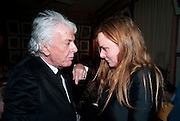 NICKY HASLAM; STELLA MCCARTNY, Graydon Carter hosts a diner for Tom Ford to celebrate the London premiere of ' A Single Man' Harry's Bar. South Audley St. London. 1 February 2010