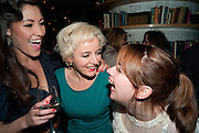 ELEANOR MATSUURA; AMANDA DREW; LUCY PREBBLE, Press night for the West End opening of ENRON.<br /> Noël Coward Theatre, St Martin's Lane, London WC2, afterwards: Asia De Cuba, St Martins Lane Hotel,  London. 25 January 2010<br /> ELEANOR MATSUURA; AMANDA DREW; LUCY PREBBLE, Press night for the West End opening of ENRON.<br /> No'l Coward Theatre, St Martin's Lane, London WC2, afterwards: Asia De Cuba, St Martins Lane Hotel,  London. 25 January 2010