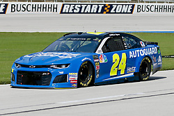 November 2, 2018 - Fort Worth, TX, U.S. - FORT WORTH, TX - NOVEMBER 02: Monster Energy NASCAR Cup Series driver William Byron (24) drives down pit row during practice for the AAA Texas 500 on November 02, 2018 at the Texas Motor Speedway in Fort Worth, Texas. (Photo by Matthew Pearce/Icon Sportswire) (Credit Image: © Matthew Pearce/Icon SMI via ZUMA Press)