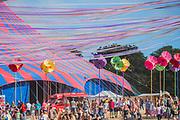 The BBC tent - The 2018 Latitude Festival, Henham Park. Suffolk 13 July 2018