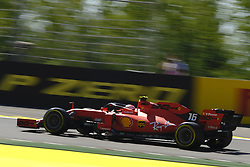 August 30, 2019, Spa Francorchamps, Belgium: Ferrari Driver CHARLES LECLERC (MC) in action during the second free practice session of the Formula one Belgian Grand Prix at the SPA Francorchamps circuit - Belgium (Credit Image: © Pierre Stevenin/ZUMA Wire)
