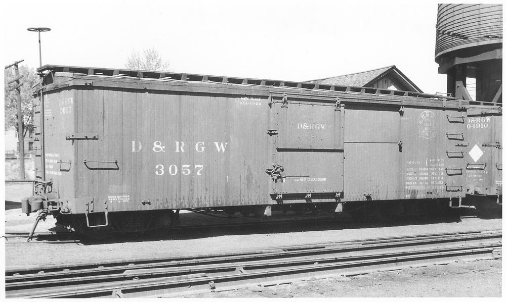Box car #3057<br /> D&RGW    ca 1934