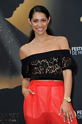 """Monte Carlo, 57th Festival of Television. Photocall """"Chicago Fire"""" pictured: Miranda Rae Mayo"""