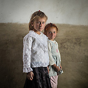 Musician Gul's daughters. In Roshorv village.