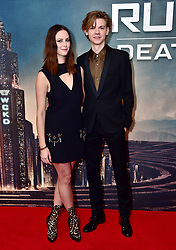 Kaya Scodelario and Thomas Brodie-Sangster attending the Maze Runner: The Death Cure fan screening held at Vue West End in Leicester Square, London.