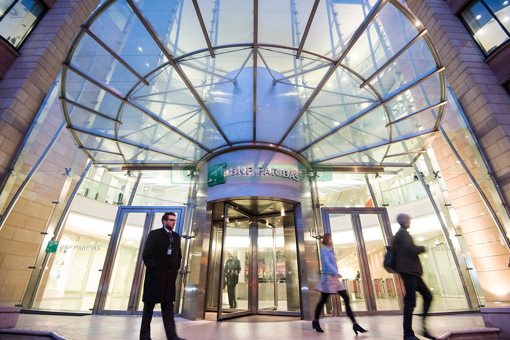 General view of the UK headquarters of BNP Paribas in Marylebone, London. The bank is one of several rumoured to be planning a move to Frankfurt after the UK's decision to leave the European Union. PRESS ASSOCIATION Photo. Picture date: Friday November 18th, 2016. Photo credit should read: Matt Crossick/PA Wire