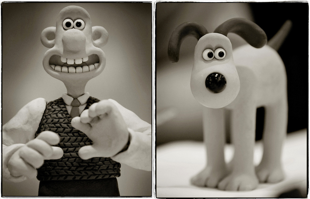 The real Wallace & Gromit - Claymation Movie Stars<br /> <br /> Virginia, Washington, DC, Corporate Headshot, Portrait, Photographer. Advertising. Editorial, Magazine, Health Care, Not-for-Profit, Herndon, Dulles, Reston, McLean, Woodbridge.