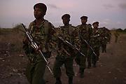 General Service Unit officers patrol the Tana Delta region.