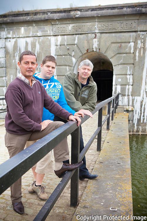 366013-nieuwe educatieve lokalen in het Fort van Kessel-Luc Luyten, Stijn Van Nunen en Rudy Van Nunen-fortstraat kessel