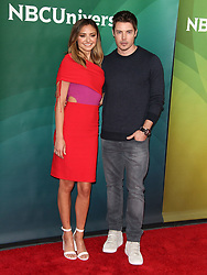 NBCUniversal Summer Press Day at Universal Studios in Universal City, California on 5/2/18. 02 May 2018 Pictured: Christine Evangelista, Josh Henderson. Photo credit: River / MEGA TheMegaAgency.com +1 888 505 6342