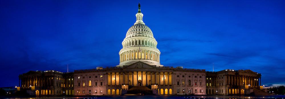 The US Capital Building Washington DC.