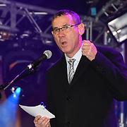 Speaker Mark Regev is a Ambassador of Israel in United Kingdom at the ceremony to light a sacred Menorah to celebrate Chanukah (Hanukkah), the eight-day Jewish Festival in Trafalgar Square, 5th December 2018, London, UK.