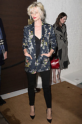 © Licensed to London News Pictures. 27/04/2016. PORTIA FREEMAN attends the Ours restaurant launch party. London, UK. Photo credit: Ray Tang/LNP