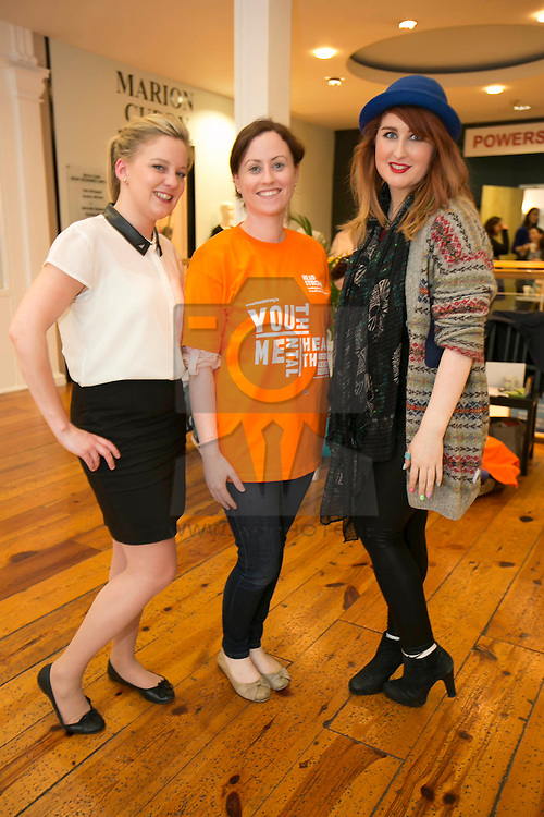 Emily Brew, Aileen O'Reily and Elaine Coyle