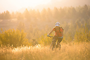 Mountain Biking, Montana.