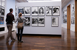 Photographs by Helmut Newton at Museum of Fotographie or Museum of Photography in Berlin