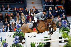 Cheronnet Aldrick, FRA, Tanael Des Bonnes<br /> Gothenburg Horse Show FEI World Cups 2017<br /> © Hippo Foto - Stefan Lafrentz<br /> 24/02/17