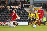 Burton Albion midfielder Ben Fox (12) during the EFL Sky Bet League 1 match between Burton Albion and Accrington Stanley at the Pirelli Stadium, Burton upon Trent, England on 23 March 2019.