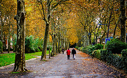 People walking in a park in the centre of Toulouse, France<br /> <br /> (c) Andrew Wilson | Edinburgh Elite media