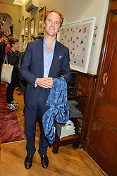 NATHAN CLEMENTS-GILLESPIE at a private view of photographs by Gray Malin 'Beaches' held at Huntsman, 11Savile Row, London on 20th June 2016.