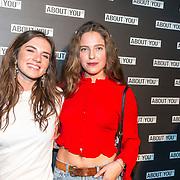 NLD/Amsterdam/20171009 - opening webshop About You, Maan de Steenwinkel en ..........