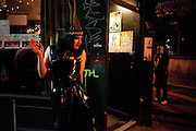 JACQUI POTATO, Ponystep - issue 3 launch party, George and Dragon, 2-4 Hackney Road, London, E2.  April 5 2012.