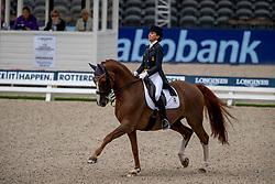 Ferrer-Salat Beatriz, ESP, Delgado<br /> European Championship Dressage<br /> Rotterdam 2019<br /> © Hippo Foto - Stefan Lafrentz<br /> Ferrer-Salat Beatriz, ESP, Delgado