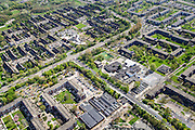 Nederland, Noord-Holland, Amsterdam Zuidoost, 09-04-2014; Holendrecht en Reigersbos.<br /> Souteast Amsterdam, residential area.<br /> luchtfoto (toeslag op standard tarieven);<br /> aerial photo (additional fee required);<br /> copyright foto/photo Siebe Swart