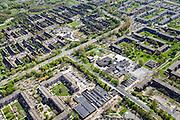 Nederland, Noord-Holland, Amsterdam Zuidoost, 09-04-2014; Holendrecht en Reigersbos.<br /> Souteast Amsterdam, residential area.<br /> luchtfoto (toeslag op standard tarieven);<br /> aerial photo (additional fee required);<br /> copyright foto/photo Siebe Swart