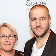 NLD/Utrecht/20180923 - Premiere Mamma Mia, Dave Mantel en zijn moeder