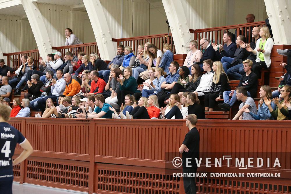 Kamp i VolleyLigaen Herrer mellem ASV Århus og Middelfart Volley i Århus Gl. Stadionhal, Århus, Danmark, den 8.10.2017. Photo Credit: Allan Jensen/EVENTMEDIA.