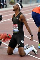 Abderrahman SAMBA Qatar 400m Hurdles Men  Winner <br /> Roma 31-05-2018 Stadio Olimpico  <br /> Iaaf Diamond League Golden Gala <br /> Athletic Meeting <br /> Foto Andrea Staccioli/Insidefoto