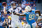 NFL-Denver Broncos at Los Angeles Chargers-Oct 6, 2019