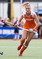 DEN BOSCH -  Valerie Magis tijdens de wedstrijd tussen de vrouwen van Jong Oranje  en Jong Wit-Rusland (15-0), tijdens het Europees Kampioenschap Hockey -21. ANP KOEN SUYK