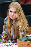 Koningsdag 2019 in Amersfoort / Kingsday 2019 in Amersfoort.<br /> <br /> Op de foto: Prinses Alexia