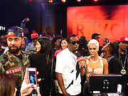 """EXCLUSIVE: Sean Diddy Combs' Revolt TV's """"Harlem to Hollywood"""" Studio Reveal at Revolt Live Studios at the Hollywood and Highland Center.<br /><br />Pictured: Kylie Jenner and Sean Diddy Combs<br />Ref: SPL687145  240114   EXCLUSIVE<br />Picture by: CelebrityVibe / Splash News<br /><br />Splash News and Pictures<br />Los Angeles:310-821-2666<br />New York:212-619-2666<br />London:870-934-2666<br />photodesk@splashnews.com"""