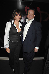 TRACEY EMIN and HAMISH McALPINE at a party hosted by Kitts nightclub in honour of Ed Godrich to than him for his work on designing the club in Sloane Square, London on 1st March 2007.<br /><br />NON EXCLUSIVE - WORLD RIGHTS