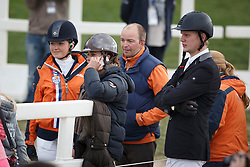 Blom Merel, De Jong Sanne, Van Beek Jan, (NED)<br /> Jumping 6 years of age<br /> Mondial du Lion - Le Lion d'Angers 2015<br /> © Dirk Caremans<br /> 18/10/15
