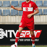 Turkey's Aykut AKGUN during their international friendly soccer match Turkey A2 betwen Lebanon A2 at Kasimpasa Recep Tayyip Erdogan stadium in Istanbul June 01, 2011. Photo by TURKPIX
