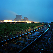 Nederland -Coevorden -Drenthe - 06-07-2005<br /> Europark industriegebied bij de Duitse grens.<br /> Foto: Sake Elzinga